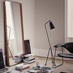 moderner standspiegel im retro stil. Black Bedroom Furniture Sets. Home Design Ideas