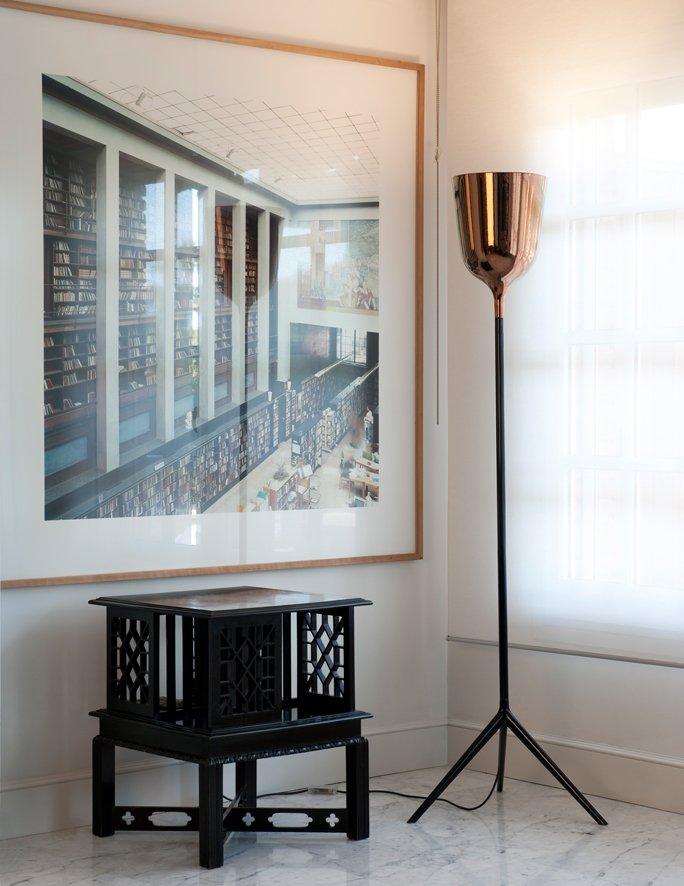 sch ner deckenfluter in kupfer. Black Bedroom Furniture Sets. Home Design Ideas